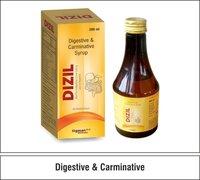 Fungal Diastase + Caraway Oil  + Cinnamon Oil + Cardamom Oil  + Simethicone + Papain + Pepsin +  Vit. B12   + Vit. B1 + Riboflavin 1.0 mgPyridoxine + Niacinamide