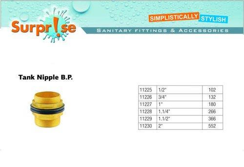 Brass Water Tank Nipple