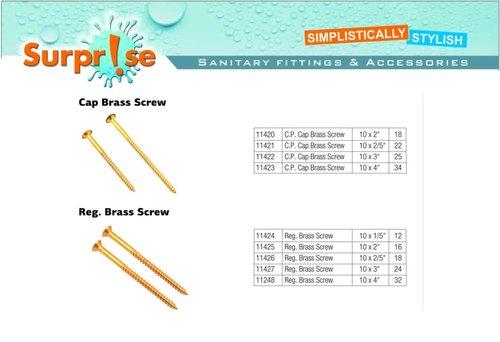 Brass Wood Screw