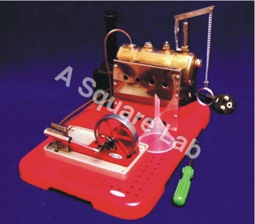 Model-Steam-Engine-Electric-Operated