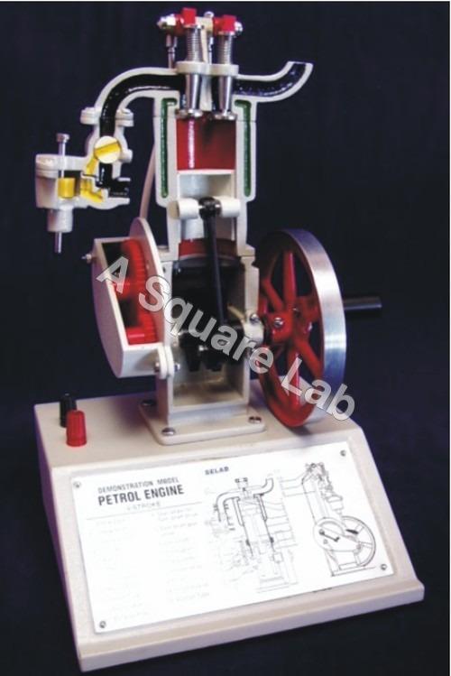 Model-Petrol-Engine-Four-Stroke