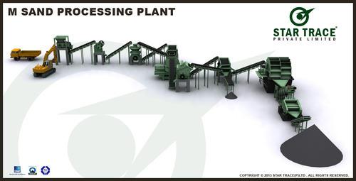 M Sand Processing Plant