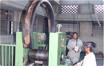 Plate Bending Gear Fabrication