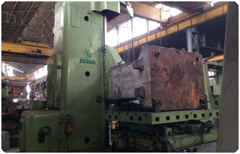 Skoda Floor Boring Machine