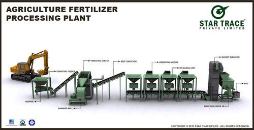 Agriculture Fertilizer Processing Plant