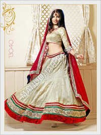 Fancy Red Bridal Lehenga