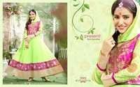 Stylish Fancy Anarkali Salwar Kameez Party Wear Suit