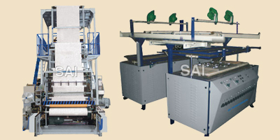 PAPER LAMINATION DONA PATTEL MACHINE