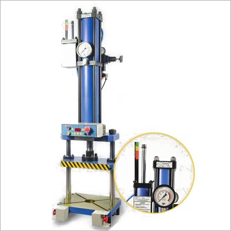 Pillar Guided Moving Plattern Hydropneumatic Press