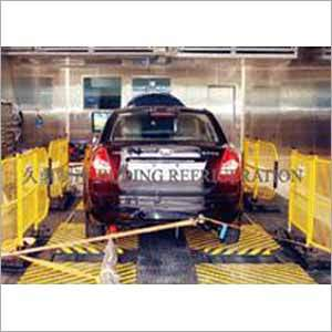 Vehicle Test Environment Simulation System