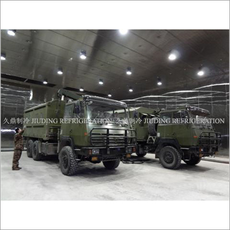 Military equipment testing Environmental simulation system