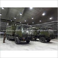 Military equipment testing Environmental simulation system