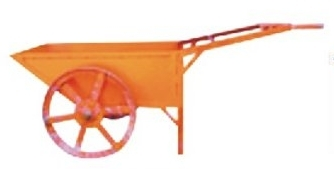 Double Wheel Barrow With M.S. Wheels