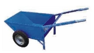 Double Wheel Barrow With Scooter Tyre