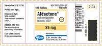 Aldactone 25 Mg Spironolactone Tablet
