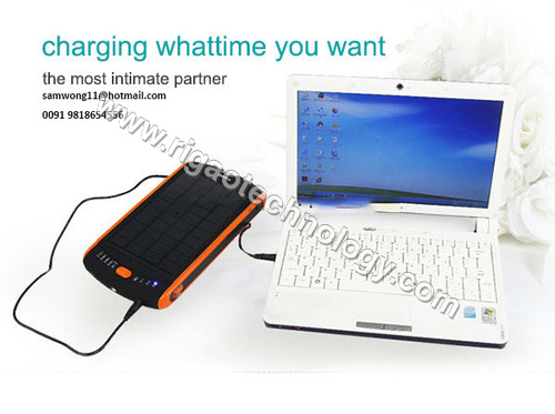 23000mAh solar power bank for laptop tablet
