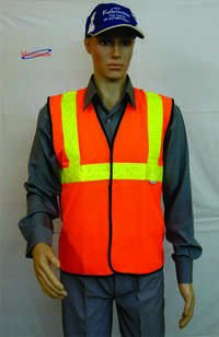 Mens Safety Vest