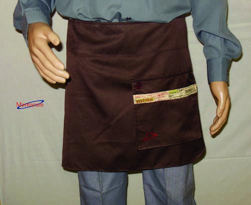 Short Cotton Apron