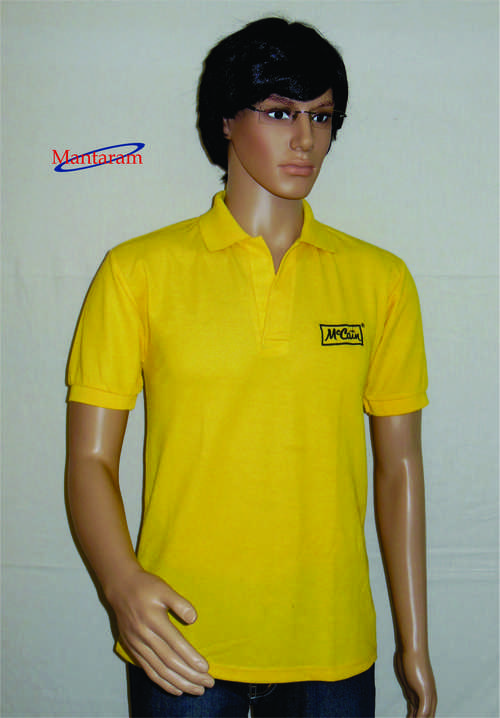 Yellow Promotional T Shirt