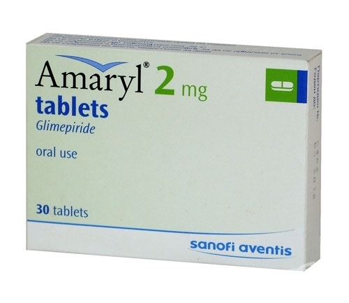Amaryl 2mg Glimepiride Tablets