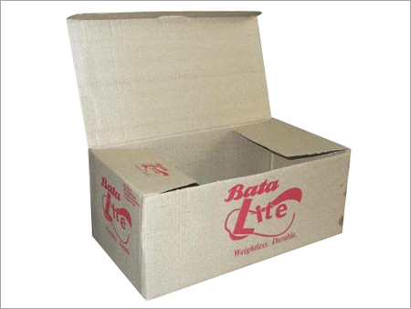 Plain Corrugated Shoes Boxes