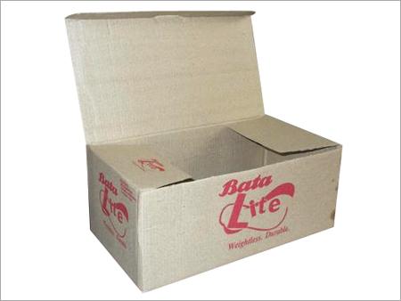 Plain Corrugated Shoes Boxes