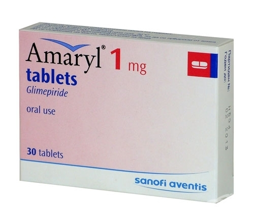 Amaryl M 1 Mg Glimepiride Tablet