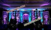 ASIAN WEDDING STAGE SET 6855