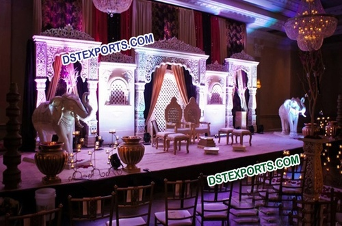 Muslim Wedding Jodha Akbar Stage