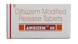 Angizem 60mg Diltiazem Tablets