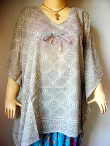 BAGRU DESIGN COTTON KAFTAN