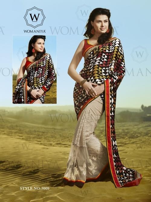Exclusive Printed Designer Saree