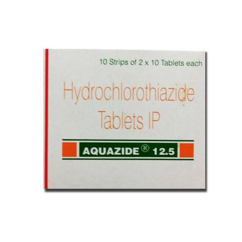 Aquazide 12 5mg 25mg Hydrochlorothiazide Tablets Supplier