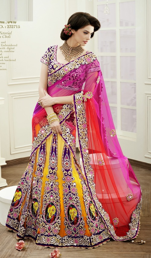 Royal Pictorial Lehenga Choli