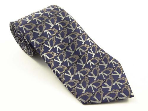 Micro Fiber Logo Neck Tie