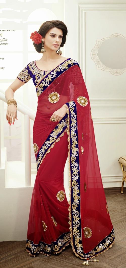 Designer stylist partywear saree