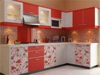 Modular Floral Kitchen