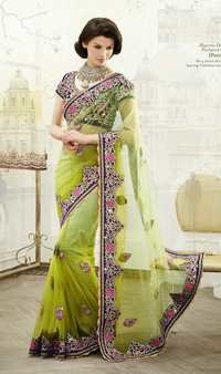 Majestic Designer Partywear Saree