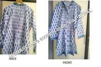 Mughal Print Kimono Kurti