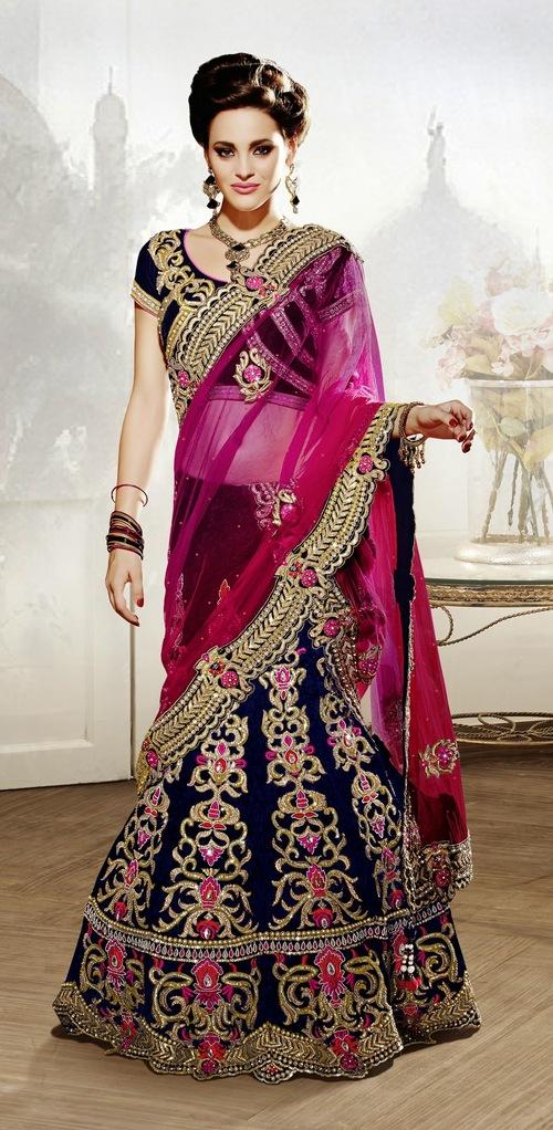 Sunbeaming designer Bridal lehenga Choli