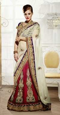Majestic Designer Lehenga cum Ready to Wear Saree