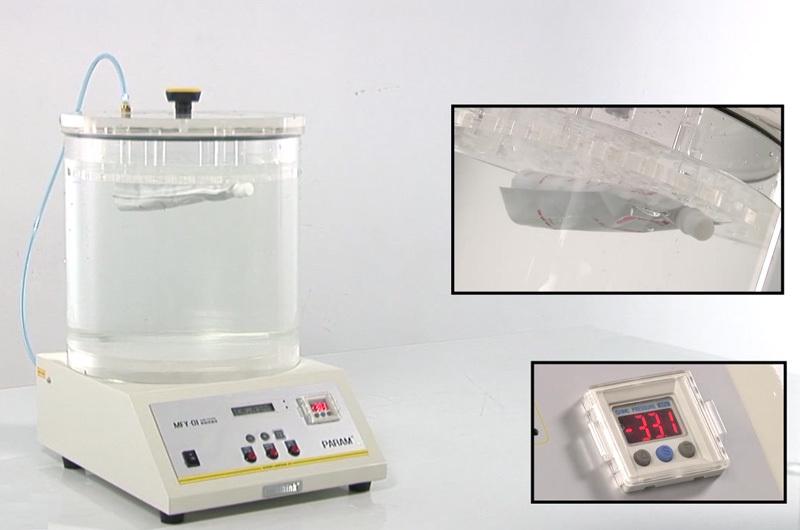 Vacuum Leak Tester for Plastic PET Bottles