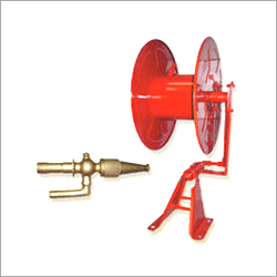 First Aid Hose Reel With Nozzle
