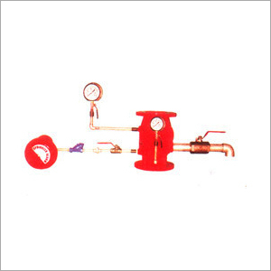 Alarm Valve System With Accessories