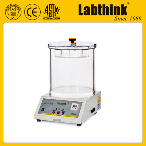 Leak Test Apparatus for Packages and Bottles