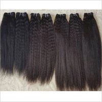 Raw Virgin Kinky Straight Human Hair