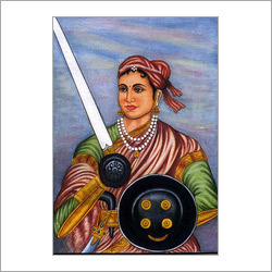 Rani Laxmi Bai Painting