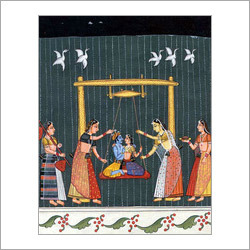 Raga Hindola Painting