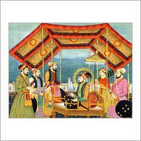 Alamgir Court Painting