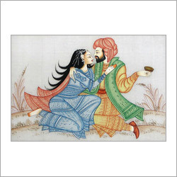Love Couple Painting